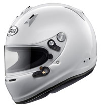 Click for a larger picture of Arai GP-6 PED Helmet, Snell SA2015, FIA8859-2015