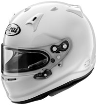 Click for a larger picture of Arai GP-7 Helmet, Snell SA2020, FIA8859