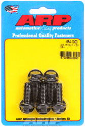 "Click for a larger picture of ARP 3/8-16 x 1.000 Black Oxide Bolt, 7/16"" Hex Head, 5-pk"