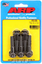 Click for a larger picture of ARP M10 x 1.25 x 40 12 Point Head Black Oxide Bolt, 5-Pack