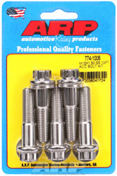 Click for a larger picture of ARP M12 x 1.50 x 50 12-Point Head Stainless Steel Bolt, 5-Pk