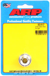 Click for a larger picture of ARP Aluminum Male AN Weld Fitting, 8AN