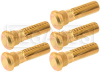 Click for a larger picture of Wheel Studs - Subaru WRX/BRZ, Scion FRS, Stock Length (5-pk)