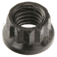 Click for a larger picture of ARP 12-Point Nut, 8mm x 1.25, Black, sold individually