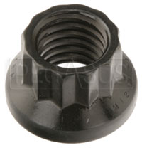 Click for a larger picture of ARP 12-Point Nut, 12mm x 1.75, Black, sold individually