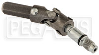 Click for a larger picture of Brunnhoelzl Jack Handle U-Joint and Release Valve Assembly