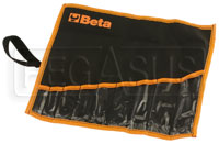Click for a larger picture of Beta Tools 42/BV9 9-Slot Wrench Wallet only