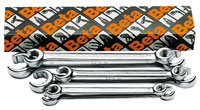 Click for a larger picture of Beta Tools 94/S6, 6 Piece Flare Nut Wrench Set, Metric