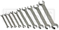 Click for a larger picture of Beta Tools 94/S10, 10 Piece Flare Nut Wrench Set, Metric