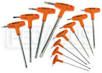 Click for a larger picture of Beta 96T/S11, 11 Piece T-Handle Hex Key Wrench Set, Metric