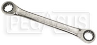 Click for a larger picture of Beta Tools 195AS Ratcheting 12Pt Box End Wrench, 11/16 x 3/4
