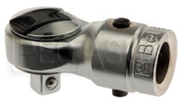 "Click for a larger picture of Beta 612 Reversible Ratchet Head for Torque Bars, 3/8"" Drive"