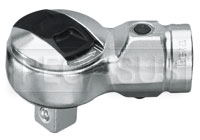 "Click for a larger picture of Beta 614 Reversible Ratchet Head for Torque Bars, 1/2"" Drive"