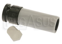 Click for a larger picture of Beta 720PL Wheel Nut Impact Socket w/Plastic Sleeve, 17mm
