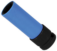 Click for a larger picture of Beta Tools 720LC/17 Lug Nut Impact Socket w/ Sleeve, 17mm