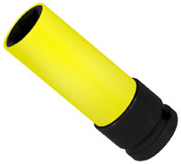 Click for a larger picture of Beta Tools 720LC/19 Lug Nut Impact Socket w/ Sleeve, 19mm