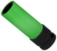 Click for a larger picture of Beta Tools 720LC/22 Lug Nut Impact Socket w/ Sleeve, 22mm