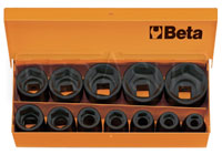 "Click for a larger picture of Beta 720/C12 Impact Socket Set, 12 Piece, 1/2"" Drive, Metric"