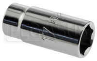 "Click for a larger picture of Beta Tools 910AL/17 Deep 6-Point Socket, 3/8"" Drive, 17mm"