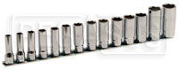 "Click for a larger picture of 910AL/SB14, 14-Pc Socket Set, 3/8"" Drive, 6-Pt Deep Metric"