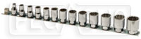 "Click for a larger picture of Beta 910AS/SB13 13-Pc Socket Set, 3/8"" Drive, 12-Point SAE"
