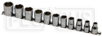 """Click for a larger picture of Beta 920A-AS/SB11 11-Pc Socket Set, 1/2"""" Drive, 6-Point SAE"""