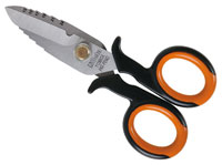 Click for a larger picture of Beta Tools 1128BSX Electrician's Scissors with Case