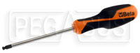Click for a larger picture of Beta Tools 1266BP Ball End Hex Driver w/ Molded Handle, 5mm