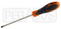 Click for a larger picture of Beta Tools 1290 Flat Blade Screwdriver, 0.6 x 3.5mm x 100mm