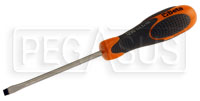 Click for a larger picture of Beta Tools 1290 Flat Blade Screwdriver, 1 x 5.5mm x 100mm