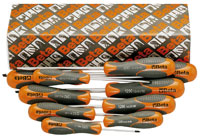 Click for a larger picture of Beta Tool 1293/S10 Flat and Phillips Screwdrivers, Set of 10