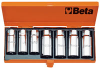 "Click for a larger picture of Beta 1434/C7 Set of 7 Pullers for Threaded Studs, 1/2"" Drive"