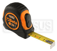 Click for a larger picture of Beta Tools 1692/3 Metric Measuring Tape, 3 Meter