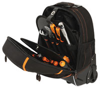 Click for a larger picture of Beta Tools C6T Tool Backpack with Handle and Casters