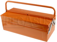 Click for a larger picture of Beta Tools C19 3-Section Cantilever Tool Box, 18 x 8 x 6