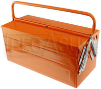 Click for a larger picture of Beta Tools C20 5-Section Cantilever Tool Box, 18 x 8 x 8