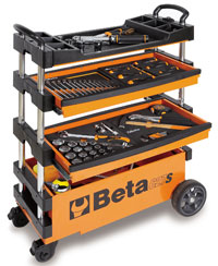 Click for a larger picture of Beta Tools C27S Outdoor Folding Tool Trolley