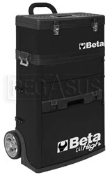 Click for a larger picture of Beta Tools C41H/N Two Module Tool Trolley, High - Black