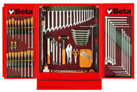 Click for a larger picture of Beta 5400-R/VI C54 Red NewCargo Cabinet + 5954VI Tool Set