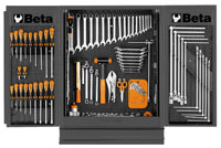 Click for a larger picture of Beta 5400-G/VG C54 Gray NewCargo Cabinet + 5954VG Tool Set