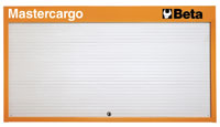 Click for a larger picture of Beta C57P/O Mastercargo Panel Cabinet, Orange - Ships Truck