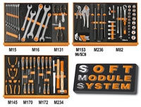 Click for a larger picture of Beta Tools 5904VG/1T 90 Piece Auto Repair Tool Kit, Metric