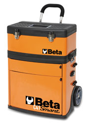 Click for a larger picture of Beta Tools C41S Two Module Tool Trolley, Short
