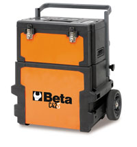 Click for a larger picture of Beta Tools C42S Two-Module Tool Trolley, Deep / Short