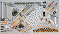 Click for a larger picture of Beta Tools 2500/VG2 C25 Tank + 118 Piece Automotive Tool Set