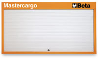 Click for a larger picture of Beta C57P/R Mastercargo Panel Cabinet, Red - Ships Truck