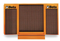 Click for a larger picture of Beta Tools C54/VI-O NewCargo Cabinet, Orange, with VI Hooks