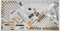 Click for a larger picture of Beta Tools 2500/VG1 C25 Tank + 94 Piece Automotive Tool Set