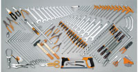 Click for a larger picture of Beta Tools 5953VG Tool Set for Auto Repairs, 147 Pieces
