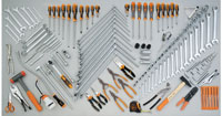 Click for a larger picture of Beta Tools 5954VG Tool Set for Auto Repairs, 138 Pieces